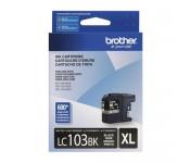 Cartucho Original Brother LC103BK preto CX 01 UN