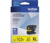 Cartucho Original Brother LC103Y amarelo CX 01 UN