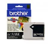 Cartucho Original Brother LC51BK preto CX 01 UN