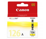 Cartucho Original Canon CLI-126Y amarelo - 9ml - CX 01 UN