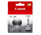 Cartucho Original Canon CLI-221BK preto - 9ml - CX 01 UN