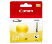 Cartucho Original Canon CLI-221Y amarelo - 9ml - CX 01 UN