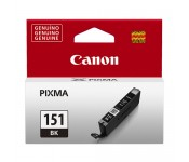 Cartucho Original Canon CLI-151BK XL preto - 7ml - CX 01 UN