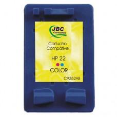 Cartucho Compatível HP 22 color - 09ml - CX 01 UN
