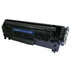 Toner Compatível HP Q2612A preto CX01 UN